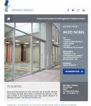 Newsletter Service plus Cloison Akzo Nobel